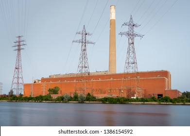Decommissioned coal fired power plant