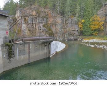 decommissioned hydro dam