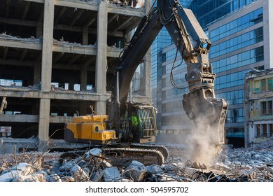 Deconstruction of building