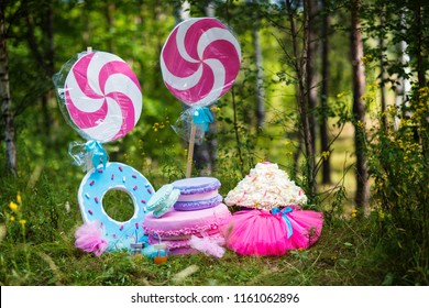 decor for a birthday in nature