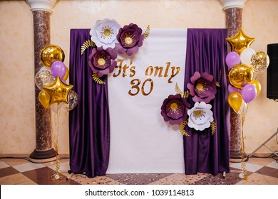 Decor for bithday party