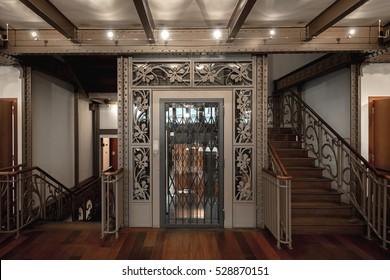 Decoraive Elevator closeup