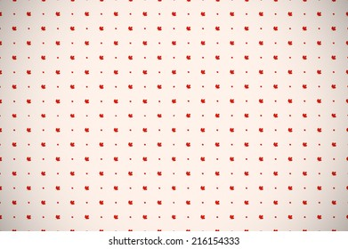 Decorated background or wallpaper