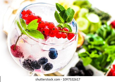 Decorated Gin Tonic