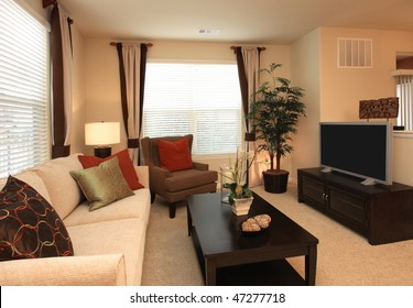 Decorated Living-room