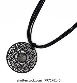 Decorating necklace, chain pendant, bijouterie.