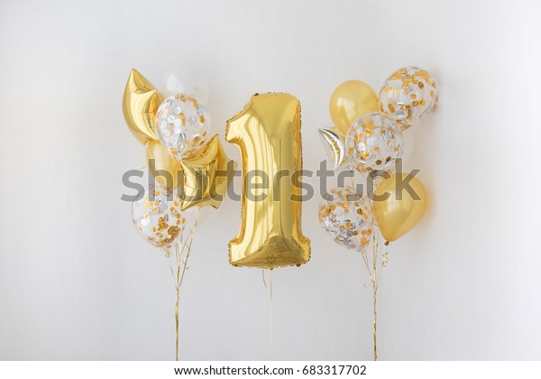 Decoration for 1 years birthday, anniversary