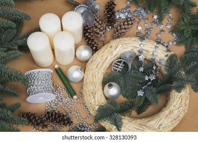 Decoration, Advent wreath and accessories