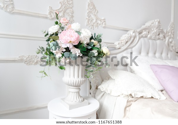Decoration Artificial Flower Arrangement Modern Bouquet Stock Photo Edit Now 1167651388