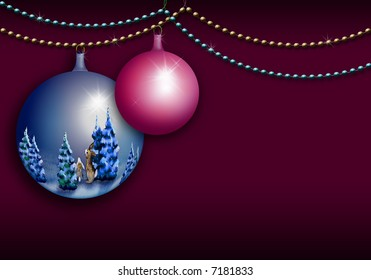 decoration christmas glass ball