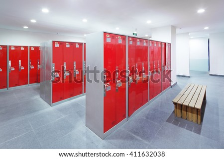 Decoration Design Dressing Room Modern Gym Stock Photo (Edit Now ...