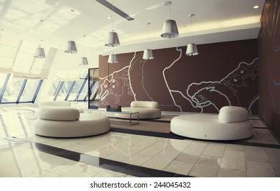 Modern Hotel Lobby Images, Stock Photos \u0026 Vectors