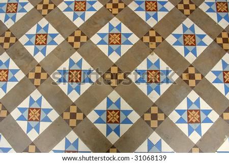 Decoration Floor Tiles Taken Close Range Stock Photo Edit Now - Fred's floor tile