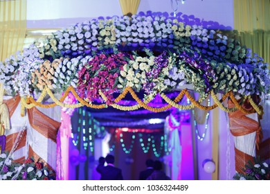 Decoration of flower