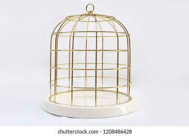Decoration gold or bird cage