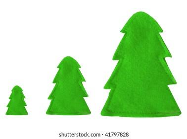 decoration green trees
