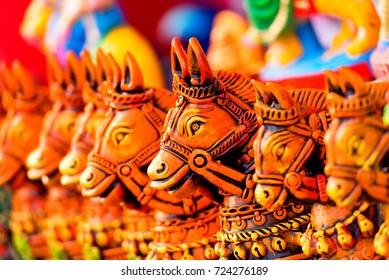 Decoration Horse Statues for Navarathri Kolu festivel