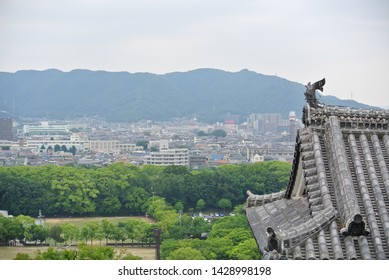 Decoration of Japanese castle eaves