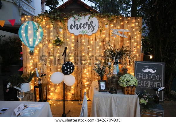 Decoration Roof Party New Year New Stock Photo (Edit Now
