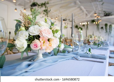 Decoration table for restaurant party