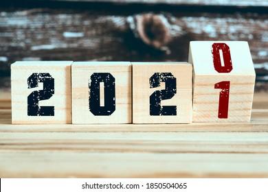 Dekoration für die Jahreswende 2021