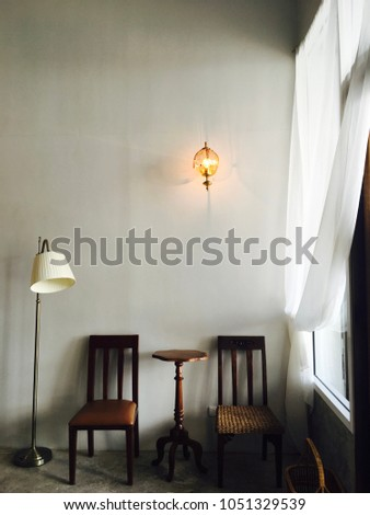 Decoration Vintage Style Coffee Shop Cafe Stock Photo Edit Now