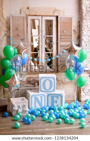 Decorations For Children Birthday One Year First