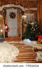 decorations Christmas porch