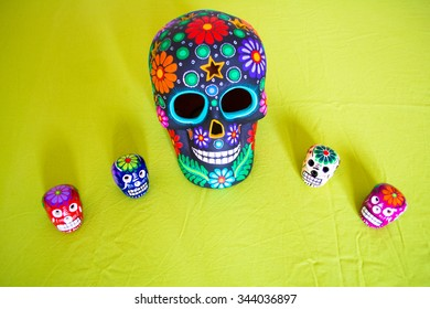 Decorations for Mexican Day of the Dead