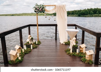 Decorations Wedding Ceremony Rustic
