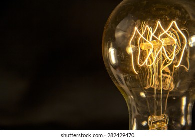 Decorative antique edison style filament light bulb