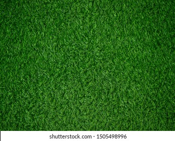 Decorative artificial green grass texture background
