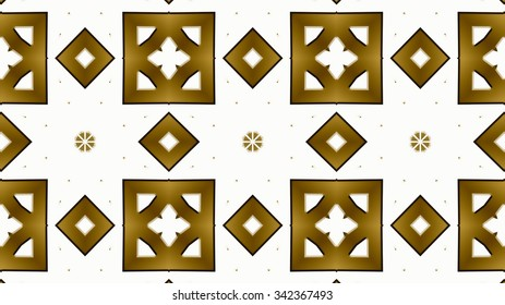 Decorative authentic gold metal background