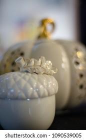 decorative autumn Lenox dishware