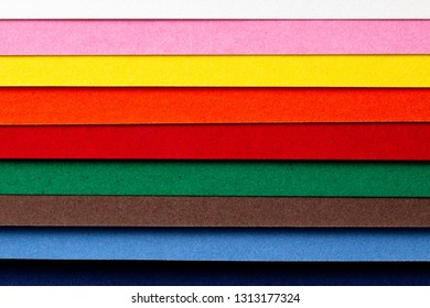 Decorative background from colored paper