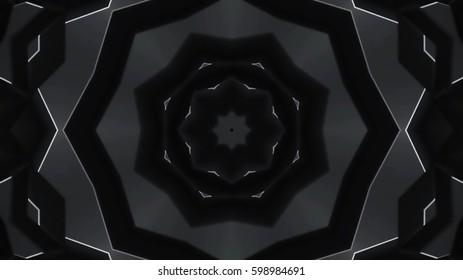 Decorative black background
