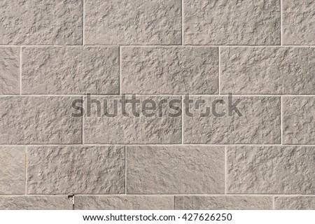 Decorative Brick Facing Brick Masonry Wall Stockfoto Jetzt