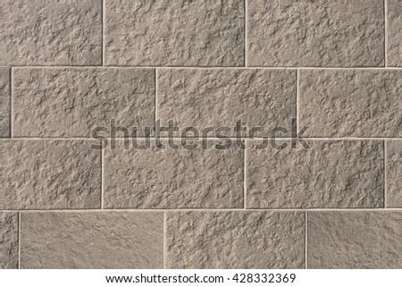 Decorative Brick Facing Brick Masonry Wall Stock Photo Edit Now
