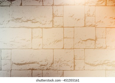 Decorative Brick Wall Color Texture For Your Design.