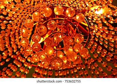 Decorative  crystal of chandelier