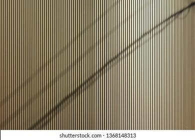 Decorative exterior wall