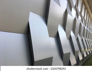 Decorative fiberglass wall panels for modern designs