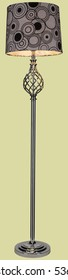 DECORATIVE FLOOR LAMP / STANDING LIGHTING
