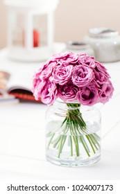decorative floral arrangement and beautiful