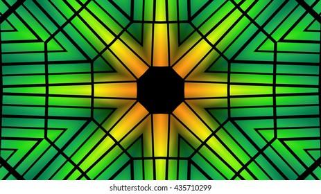 Decorative glassy lights background