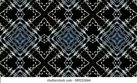 Decorative metallic background