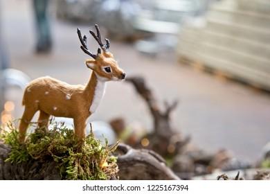 Decorative miniature deer