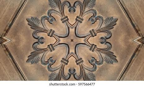 Decorative old wood background