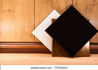 Decorative panels for decoration of offices and apartments