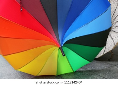 Decorative Parasol in all Colors of Rainbow